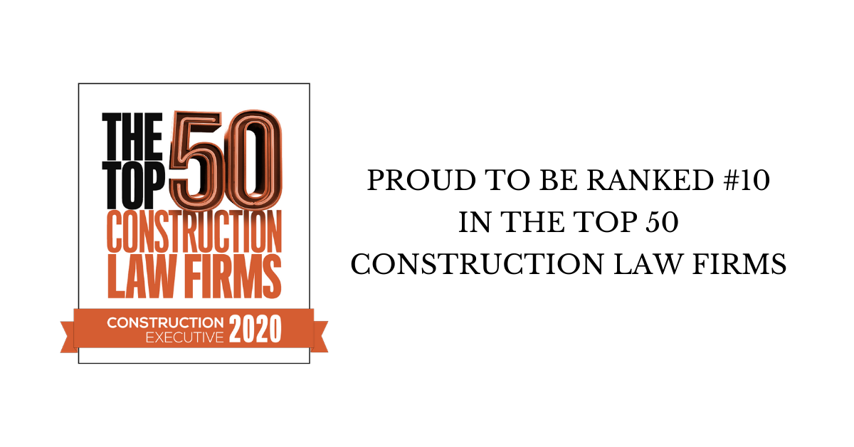 2020 Top 50 Construction Law Firms